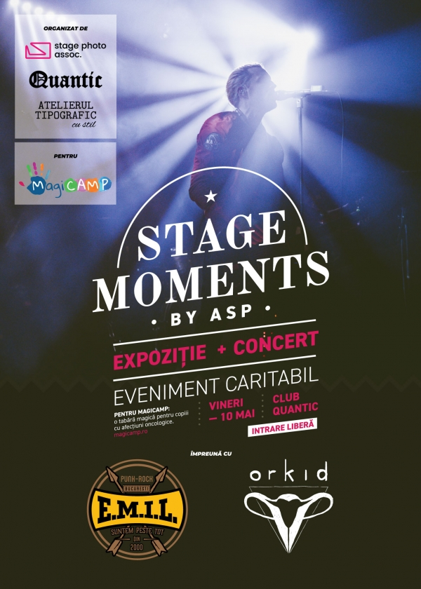 Eveniment caritabil - Stage Moments - by ASP